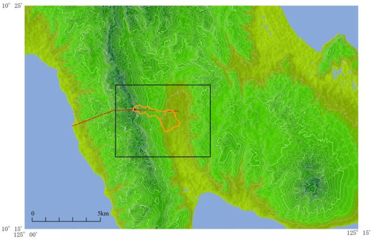 地すべりに関する地理情報