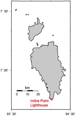 2004年スマトラ島沖地震・インド洋津波 ニコバル諸島における地震 ...