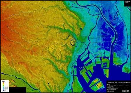 デジタル標高地形図ってこんなに...