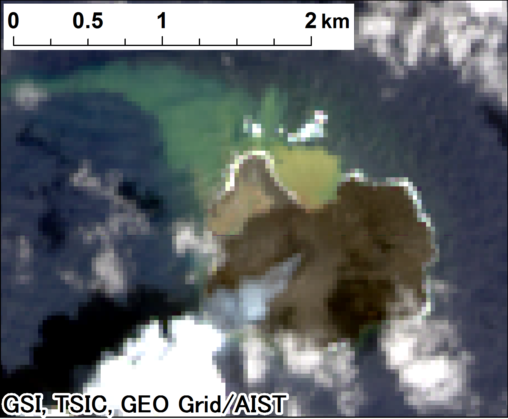 Landsat 8 true-color imagery (2014-09-06)