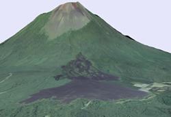 2.火山の活動による地形 | 国土地理院